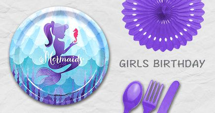 Kids Birthday, Girls, Birthday, Disney, Princess, Cutlery, Decorations