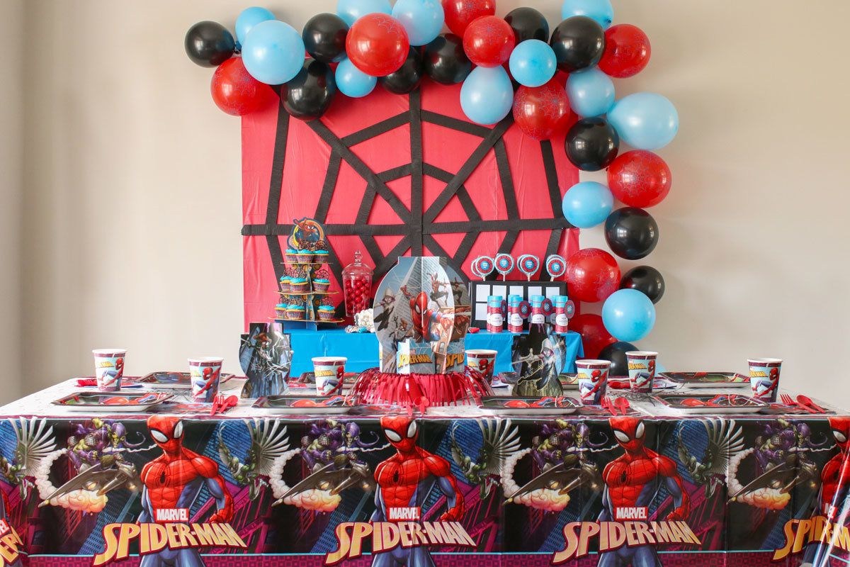 Spider-Man Birthday Party Ideas