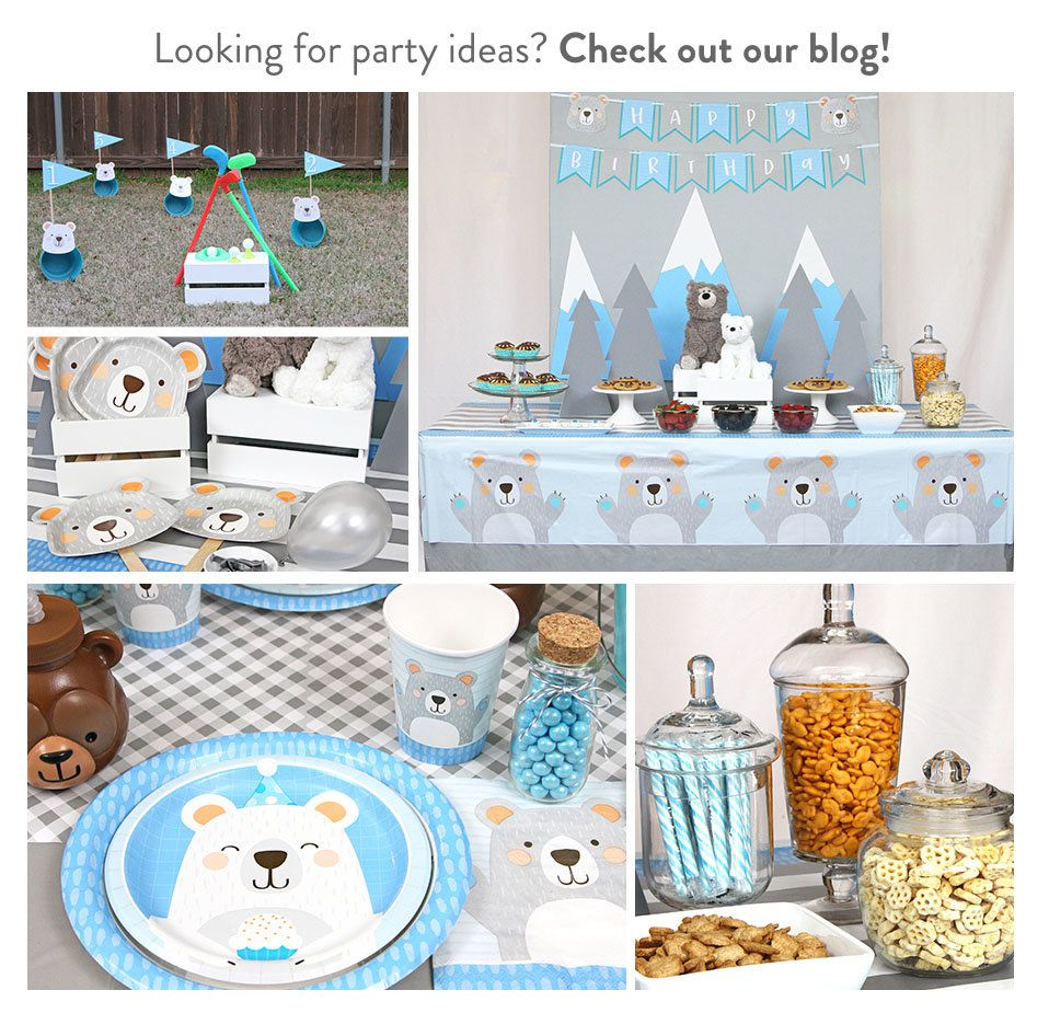 Baby Bear Party Ideas
