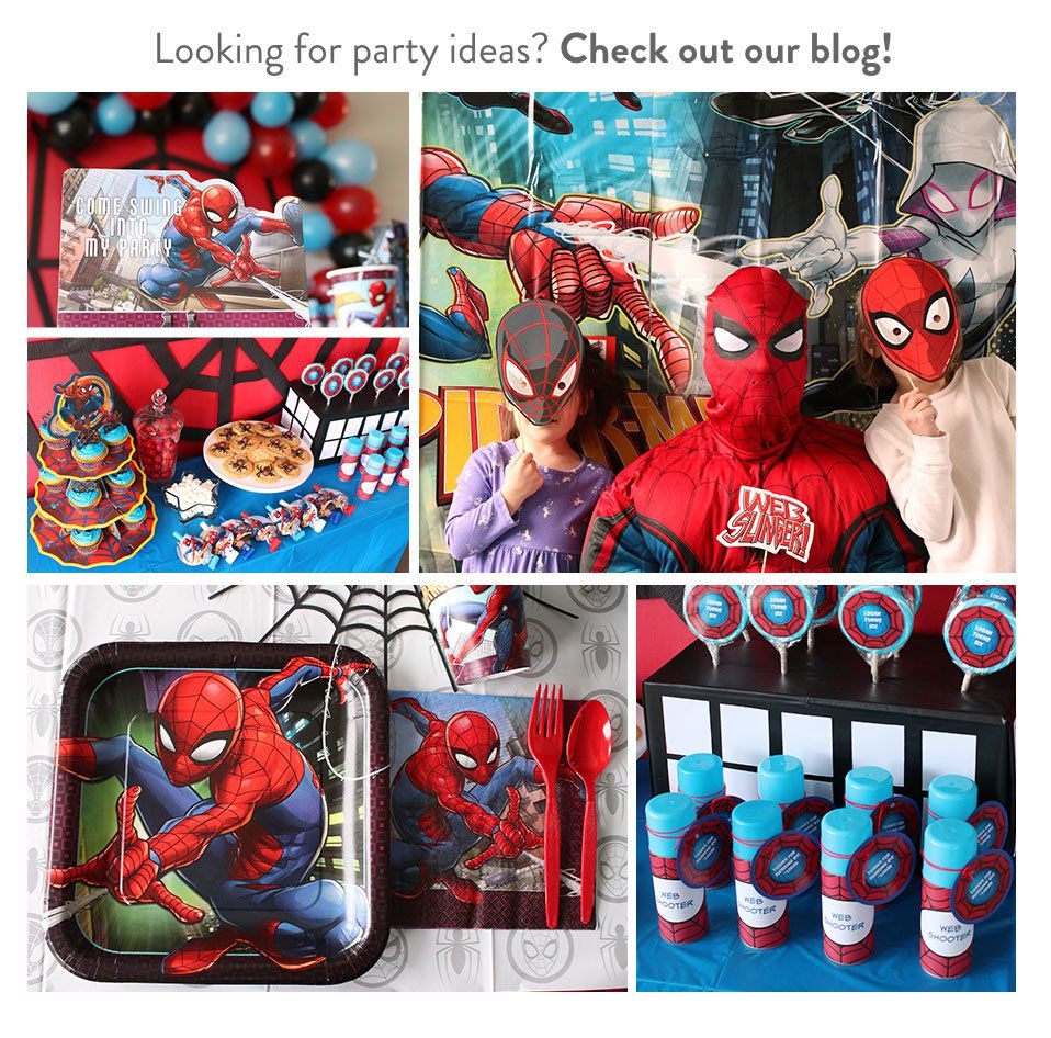 Spider-Man Party Ideas