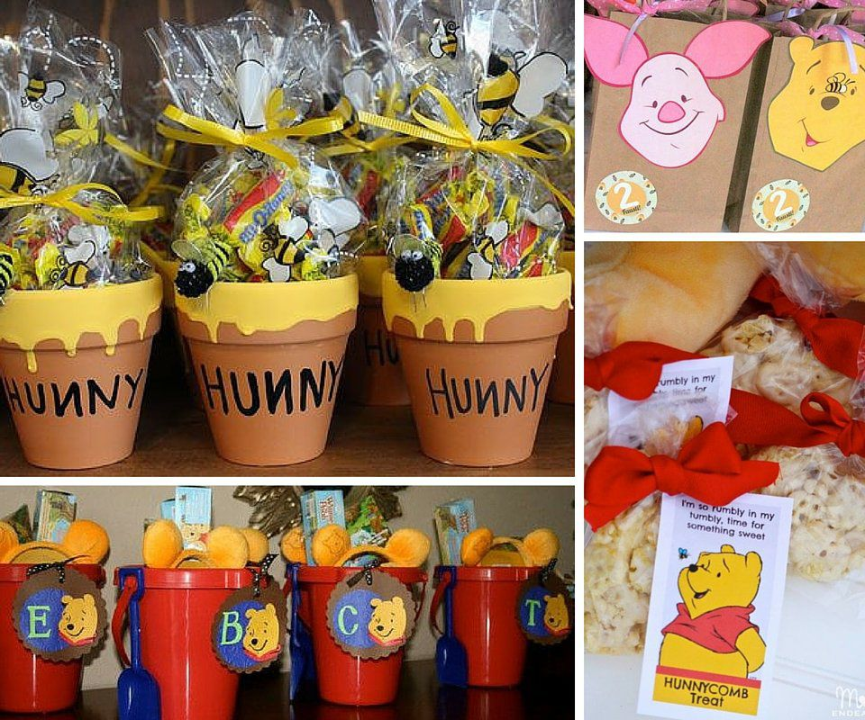 Winnie The Pooh Party Favors