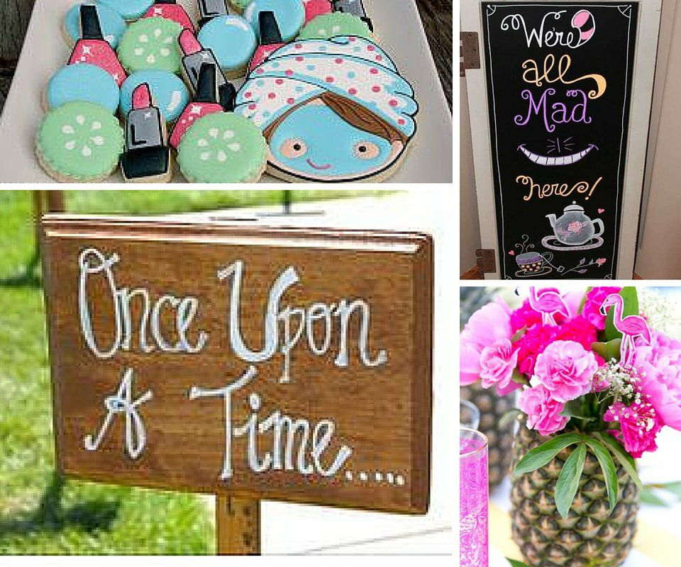 Girls Only Party Themes