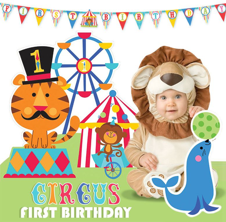 Circus 1st Birthday Party Ideas