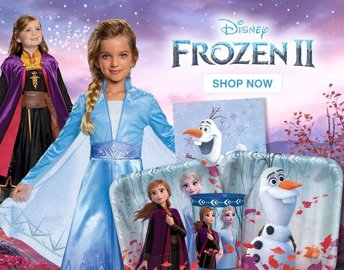 Frozen II Party Supplies