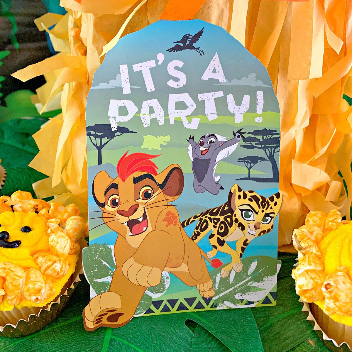 Lion King Party Ideas - Invitation