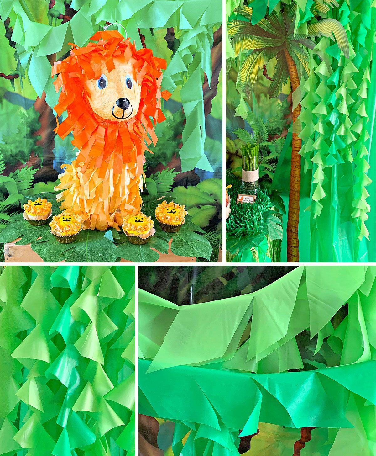 Lion King Party Ideas - Decorations