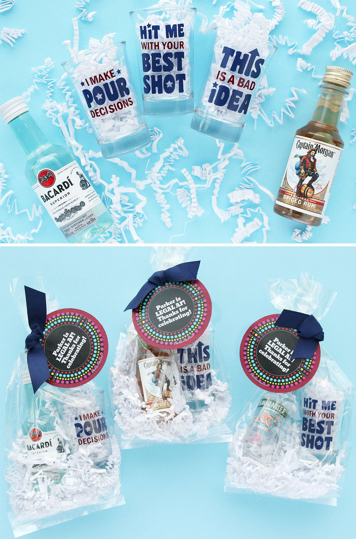 21st Birthday Party Favors