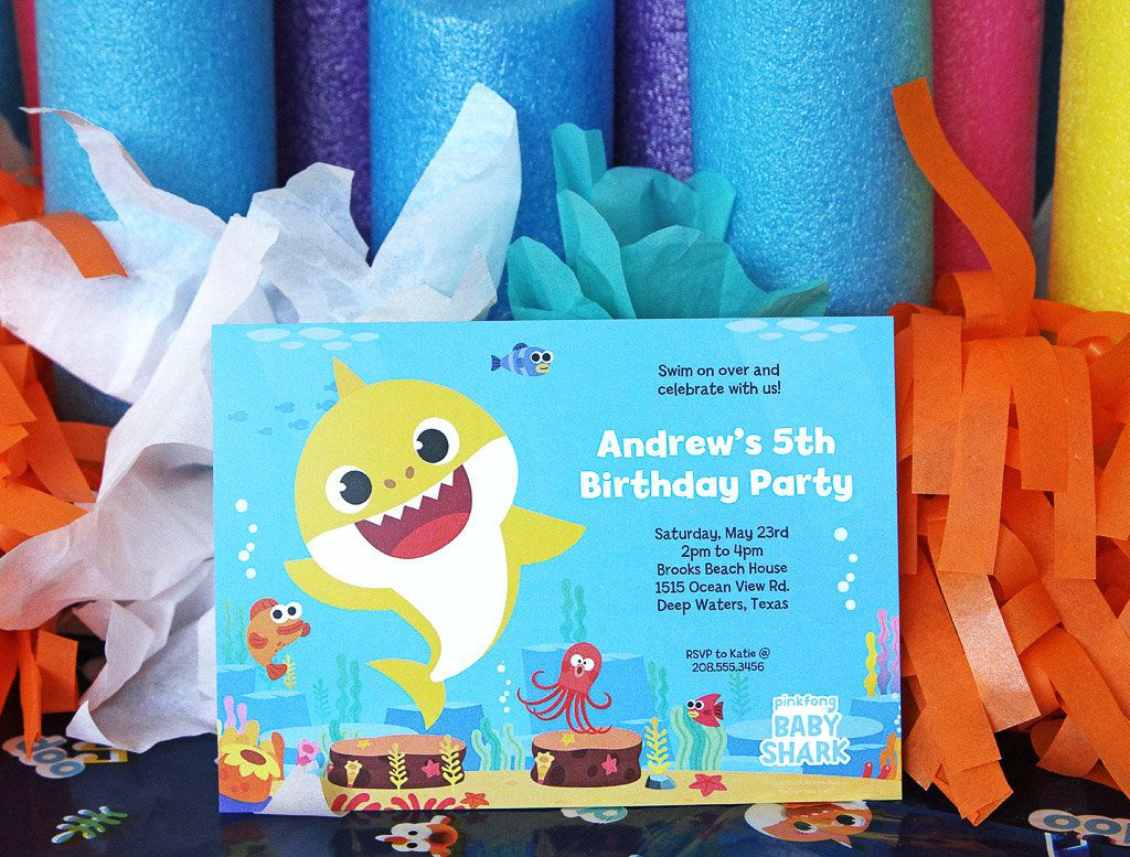 baby shark party ideas party guides
