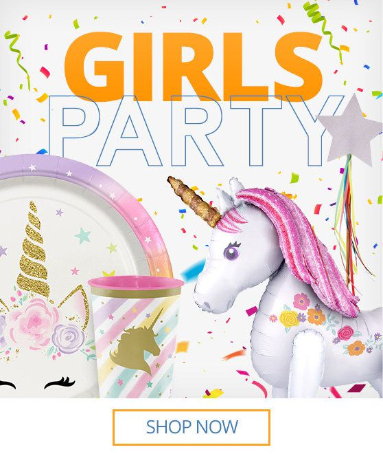 Birthday Party Supplies Boys Girls Birthday In A Box
