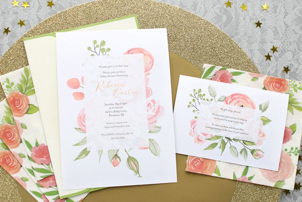Floral Baby Shower Party Ideas