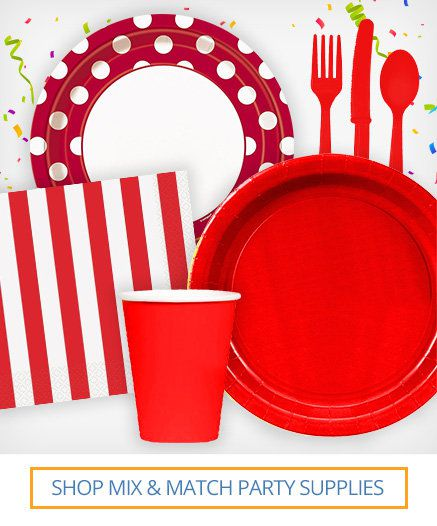 Shop mix and match party supplies