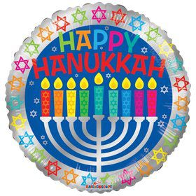 "18"" Happy Hanukkah Balloon"
