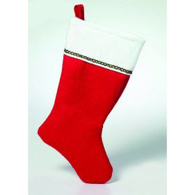 "19"" Felt Christmas Stocking (1)"