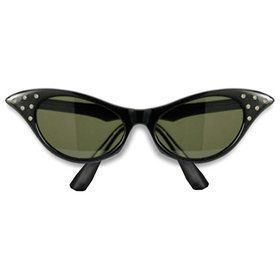 1950s Sunglasses (Black)