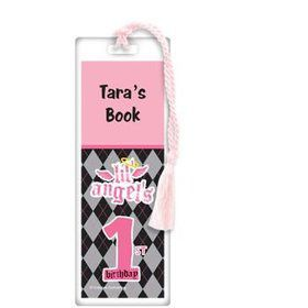 1st Birthday Angel Personalized Bookmark (each)