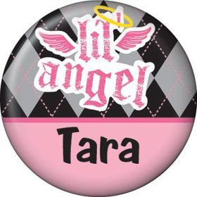 1st Birthday Angel Personalized Mini Magnet (each)