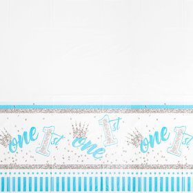1st Birthday Blue Tablecover (1)