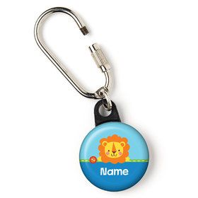 "1st Birthday Boy Animal Personalized 1"" Carabiner (Each)"