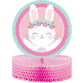 Birthday Bunny Honeycomb Centerpiece (1)