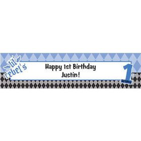 1st Birthday Rebel Personalized Banner (each)