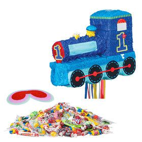 1st Birthday Train Pinata Kit