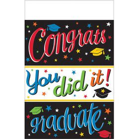 Graduation Colorful Table Cover Each