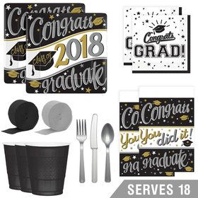 2018 On Your Way Deluxe Tableware Kit (Serves 18)