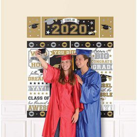 2020 Grad Scene Setter Wall Decorating Kit