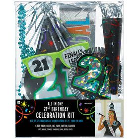 21st Birthday Accessory Kit