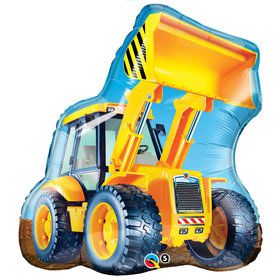 "32"" Tonka Dump Truck Shaped Mylar Balloon (each)"