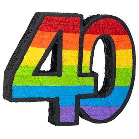 40Th Birthday Pinata