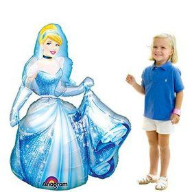 "48"" Cinderella Airwalker Balloon (each)"