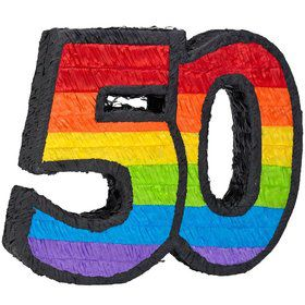 50Th Birthday Pinata