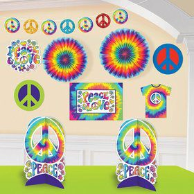60's Groovy Hippie Room Decorating Kit (Each)