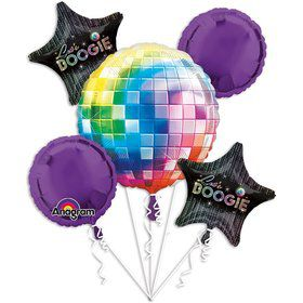 70's Disco Balloon Bouquet (Each)