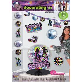 70's Disco Decoration Set (10)