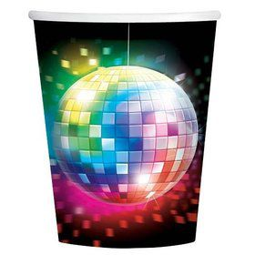 70's Disco Fever 9oz Cups (8 Pack)