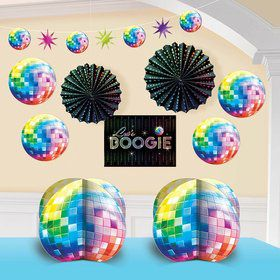 70's Disco Fever Room Decorating Kit (Each)
