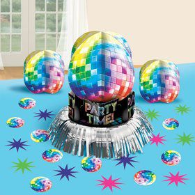 70's Disco Fever Table Decorating Kit (Each)