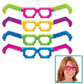 8-Bit Eyeglasses (4 Pack)