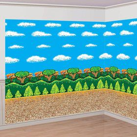 8-Bit Wall Backdrop Decorating Kit (Each)