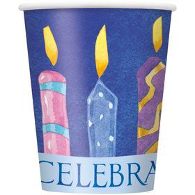 8 Hanukkah Celebrate 9OZ Cups