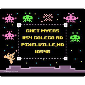 80's Personalized Address Labels (Sheet of 15)