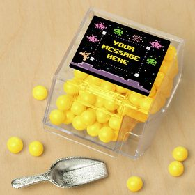 80S Personalized Candy Bin with Candy Scoop (10 Count)