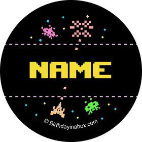 80s Personalized Mini Stickers (Sheet of 20)