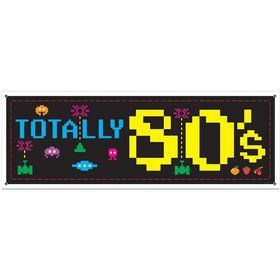 80's Sign Banner (Each)