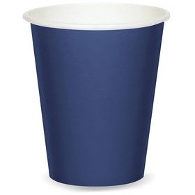 9 oz Cups - Navy