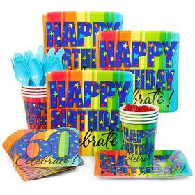 A Year to Celebrate 60th Birthday Standard Tableware Kit