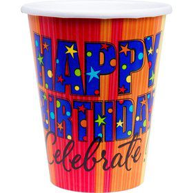 A Year To Celebrate - Happy Birthday 9oz Cups