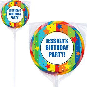 A Year To Celebrate Lollipops (Pack Of 12)